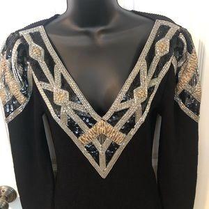 Vintage Pat Sandler for Wellmore sweater dress